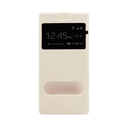 Futrola Window za Huawei P8 Lite bela
