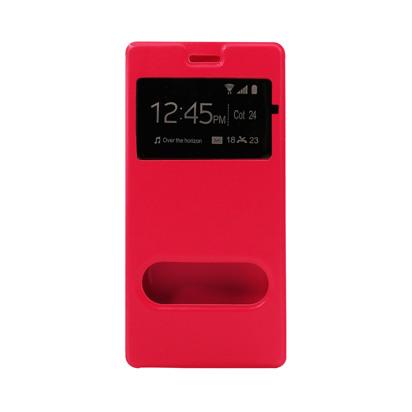 Futrola Window za Huawei P8 Lite pink