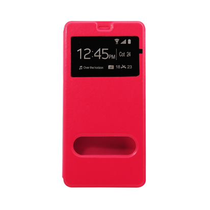Futrola Window za Huawei P9 pink