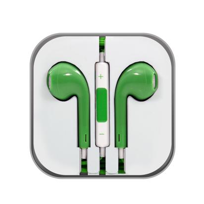 Slusalice Iphone zelena