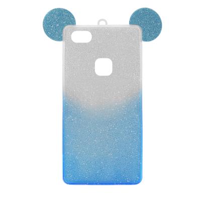 Futrola SHOW YOURSELF EARS za Huawei P10 Lite srebrno-plava