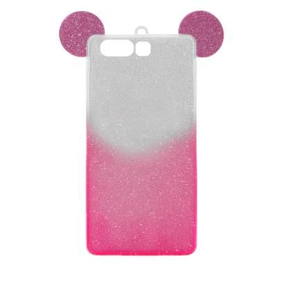 Futrola SHOW YOURSELF EARS za Huawei P10 srebrno-roze