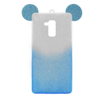 Futrola SHOW YOURSELF EARS za Huawei Honor 7 Lite/ Honor 5C srebrno-plava