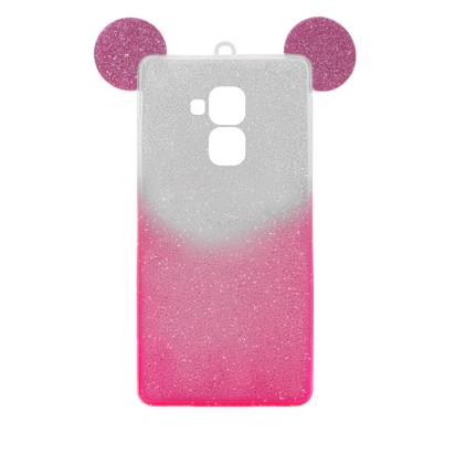 Futrola SHOW YOURSELF EARS za Huawei Honor 7 Lite/ Honor 5C srebrno-roze