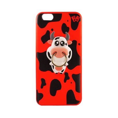 Futrola Gumena COW za iPhone 6G/6S crvena