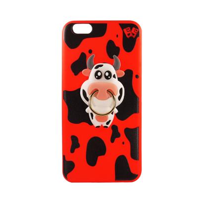 Futrola Gumena COW za iPhone 6 Plus/6S Plus crvena