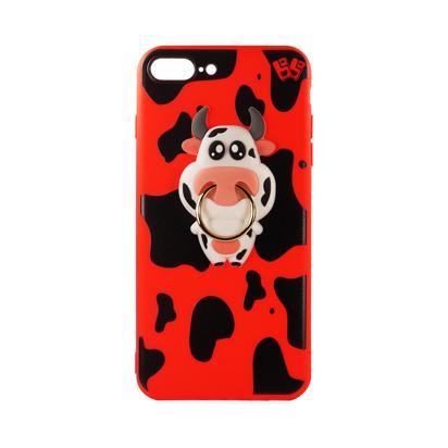 Futrola Gumena COW za iPhone 7 Plus/8 Plus crvena