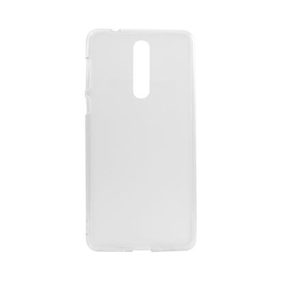 Futrola silikon Mobilland Thin  za  Nokia 8  bela