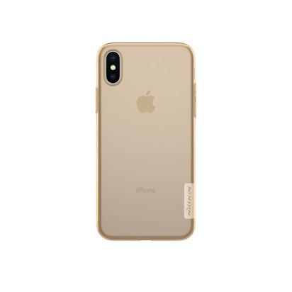 Futrola Nillkin Nature za Iphone X/XS zlatna